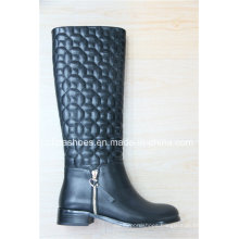 Fashion Lady High Heel Europe Women Knee Boots