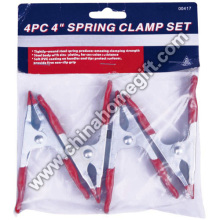 4' SPRING CLAMP SET