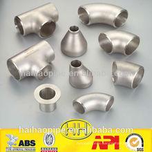 China ansi b16.9 ss304l pipe fitting