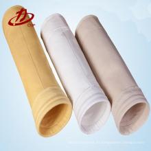 bolsa de filtro de polvo a prueba de agua para la planta de energía de la planta de cemento de la industria química