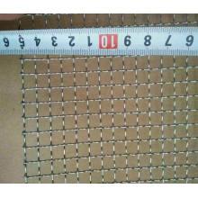 Malla de alambre cuadrada galvanizada