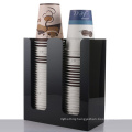 Acrylic Paper Cup Holder, Acrylic Coffee Drink Organizer Stand