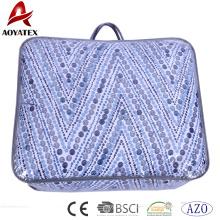 Günstige importierte Heimtextilien Bettwäsche, 100% Polyesterfaser Steppdecke Großhandel Mikrofaser Bettwäsche Set