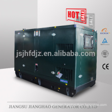 60hz Soundproof 200kva electric diesel generator set Powered by Volvo engine
