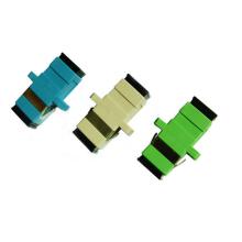 Venta al por mayor Un solo modo Multi Modo Duplex Simplex con acoplador de brida / Adaptador de fibra óptica LC / St / FC / Sc