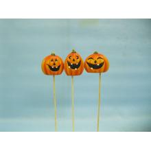 Arts et artisanat en céramique de citrouille de Halloween (LOE2375-5.5p)
