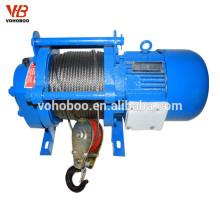 Guinchos elétricos de baixa velocidade 220v