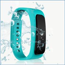 Wireless Bluetooth Headset Pedometer Wristband smartband manufacturer