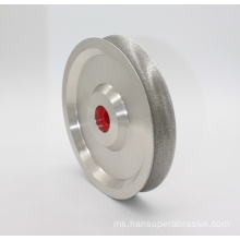 Diamond Coated Arc Ukiran Ukiran Profil Grinding Wheel