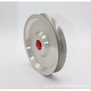 Diamond Coated Arc. Ukiran Profil Ukiran Grinding Wheel