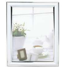 "White With Silver 5""X7"" Photo Frame"