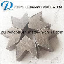 Segment de meulage d'outils de meulage de béton de Pulifei pour la surface de plancher