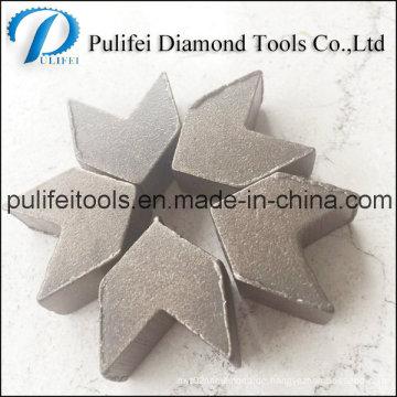 Pulifei-konkretes reibendes Werkzeug-reibendes Segment für Boden-Oberfläche