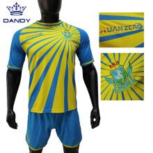Männer Fußballtrikot Sublimation Fußball tragen