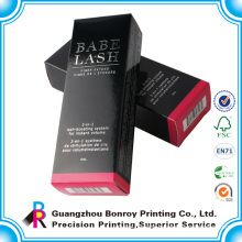 custom Beautiful BB cream white card paper box with cheap price