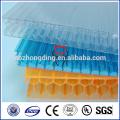 Материал 100% виргинский Bayer поликарбоната сота листа крыши