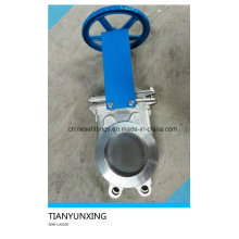 150 Psi Hand Wheel Stainless Steel 316 Knife Gate Valve