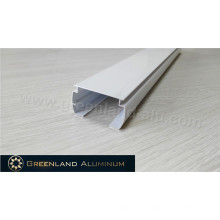 Horizontal Shades Aluminum Head Rail White Color