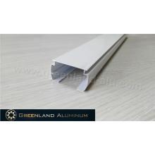 Tons horizontais Alumínio Cabeçote Branco Cor