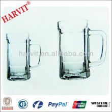 Copa del Mundo de vidrio de cerveza Vajilla / Mango Vino Copa de cristal Copa de Cristal Set / Copa de cerveza Copa
