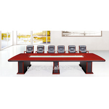 High quality custom wooden white small antique office meeting table