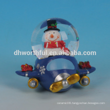 High quality christmas water globe,resin water globe gift for 2016 christmas decoration