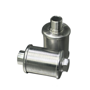 Stainless Steel 304L outer Thread Water Strainer