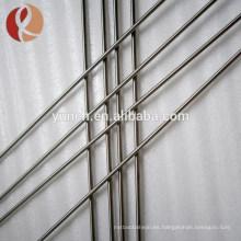 Precio de la barra de aleación de ti-6al-4v titanio gr5 de la India por kg