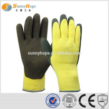 SUNNYHOPE yellow polka dot cotton glove