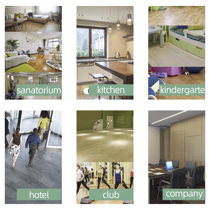 SPC floor Application