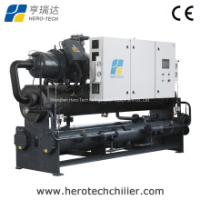 High Eer 200ton/Tr Water Cooled Screw Chiller with Screw Compressor