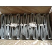 U tipo de alambre de hierro / corte de alambre / galvanizado tipo U vinculante alambre (fábrica)