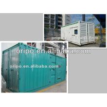 Type de conteneur pour génératrice diesel à conteneur de 1000kw 40ft