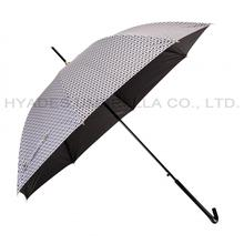 Compact folding golf umbrella