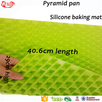 Wholesale pyramide en silicone tapis de table