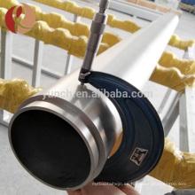 Venta caliente Nb2 Tubo de niobio y niobio con el mejor precio por kilogramo o libra