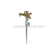 Metal impulse Sprinkler on metal spike