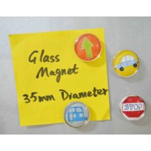 Kid′s Refrigerator Glass Magnet