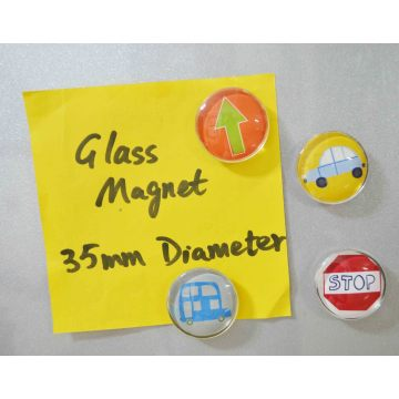 Kid′s Glass Beads, Glass Magnet