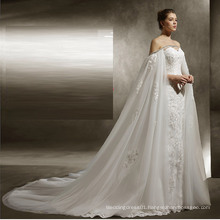 UK Shawl Mermaid Wedding Dress
