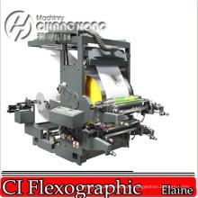 2 papel de la servilleta del color Flexo Impresión de la máquina Rebobinador de superficie