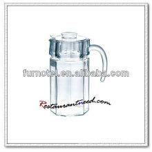 D105 1600ml jarra de bebidas de vidrio octogonal