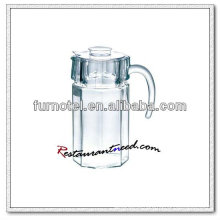 D105 1600ml Octagonal Glass Beverage Pitcher