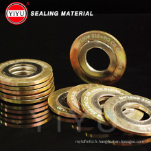 Power Factory Production, Self-Marketing Spiral Wound Gasket + Graphite, Metal Ring Gasket Winding Gasket High Quality