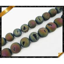Perles en pierre de mode, perles Druzy Drusy pour bracelet, perles en gros (YAD022)