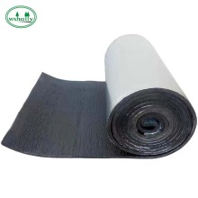 aluminum foil flexible foam rubber insulation sheet/pipe