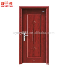 steel front door design single room door with handle lock