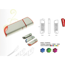 USB-Flash-Laufwerk mit Matt-Silber-Finish (01D20001)