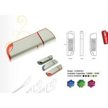USB Flash Drive com acabamento em prata fosco (01D20001)