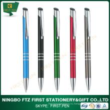 Индивидуальный щелчок рекламной металлической ручкой